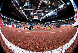 Athletes compete in the Women's 1500 metres heats on day one of the 2017 European Athletics Indoor Championships at the Kombank Arena on March 3, 2017 in Belgrade, Serbia. Photo by Vid Ponikvar / Sportida