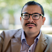 Eduardo Corral won the Yale Younger Poets series for his collection SLOW LIGHTNING.