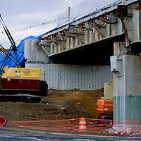 Stock - Sandy Hook Bridge Construction