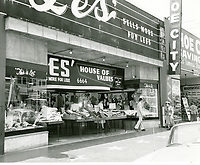 1960 Stores on Hollywood Blvd.