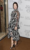 Lily James, Harper's Bazaar Women of the Year Awards, Claridge's, London UK, 03 November 2015, Photo by Richard Goldschmidt