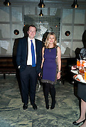 TOM PARKER BOWLES; SARA PARKER BOWLES, Donatella Versace celebrates the launch of the CSM 20:20 Fund, at the Connaught Hotel, Mayfair, London, 11th November, 2010. -DO NOT ARCHIVE-© Copyright Photograph by Dafydd Jones. 248 Clapham Rd. London SW9 0PZ. Tel 0207 820 0771. www.dafjones.com.