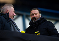 Football - 2020 / 2021 Scottish FA Cup - Round 3 - Glasgow Rangers vs Cove Rangers - Ibrox Stadium<br /> <br /> Ex Rangers player Derek McInnes is seen before the game<br /> <br /> Credit : COLORSPORT/BRUCE WHITE