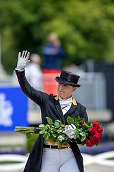 WERTH Isabell (GER)<br /> Aachen - CHIO 2019<br /> Geburtstagsüberraschung zum 50. für Isabell Werth<br /> Deutsche Bank Preis<br /> Großer Dressurpreis von Aachen<br /> Grand Prix Kür CDIO5* <br /> 21. Juli 2019<br /> © www.sportfotos-lafrentz.de/Stefan Lafrentz