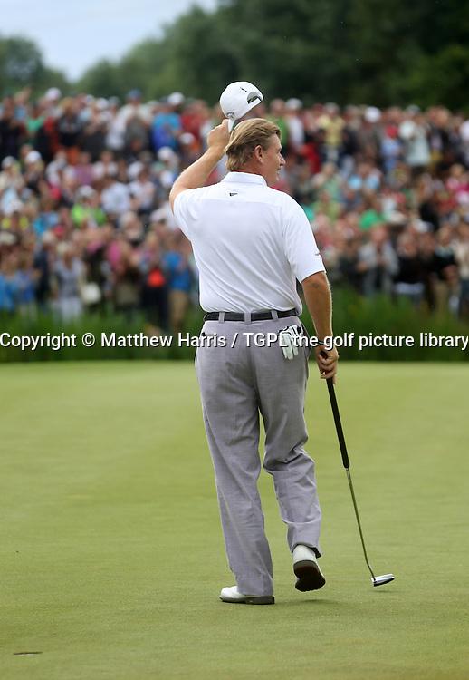 Ernie ELS (RSA) during fourth round BMW International 2013, Golfclub Munchen Eichenried,Munich,Bavaria,<br /> Germany.