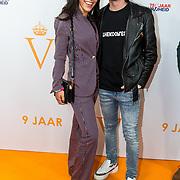 NLD/Katwijk/20191030 - 9 jaar Soldaat van Oranje, Kaj van der Voort met partner Moise Trustfull
