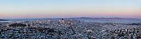San Francisco cityscape. (20838 x 5846 pixels)