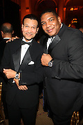 l to r: Khepra Burns and Jesse Askew at The Fifth Annual Grace in Winter Gala honoring Susan Taylor, Kephra Burns, Noel Hankin and Moet Hennessey USA and benfiting The Evidence Dance Company held at The Plaza Hotel on February 3, 2009 in New York City.