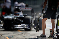 MOTORSPORT - F1 2013 - GRAND PRIX OF ITALIA - MONZA (ITA) - 05 TO 08/09/2013 - PHOTO FRANCOIS FLAMAND / DPPI - WILLIAMS F1 TEAM AMBIANCE