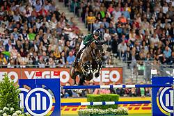 MOLONEY Peter (IRL), Chianti's Champion<br /> Aachen - CHIO 2019<br /> Mercedes-Benz Nationenpreis<br /> Mannschaftsspringprüfung mit zwei Umläufen<br /> 2. Runde/Second Round<br /> 18. Juli 2019<br /> © www.sportfotos-lafrentz.de/Stefan Lafrentz