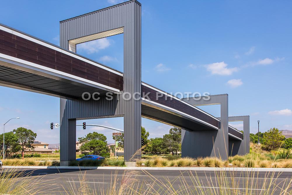The Irvine Boulevard Pedestrian Bridge