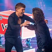 NLD/Hilversum/20190222 - Finale TVOH 2019, Lil' Kleine en Anouk Teeuwe
