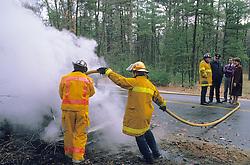 Car Fire Sudbury