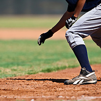 Baseball - MLB European Academy - Tirrenia (Italy) - 20/08/2009 - first base runner