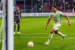 27-09-2018 NED: FC Utrecht - MVV Maastricht, Utrecht<br /> First round Dutch Cup stadium Nieuw Galgenwaard / Cyriel Dessers #11 of FC Utrecht scores the penalty 1-0