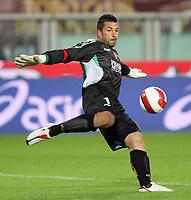 """Torino 29/9/2007 Stadio """"Olimpico""""<br /> Campionato Italiano Serie A<br /> Matchday 6 - Torino-Juventus (0-1)<br /> Matteo Sereni (Torino)<br /> Photo Luca Pagliaricci INSIDE"""