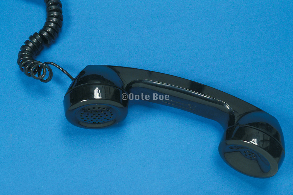receiver of a rotary phone