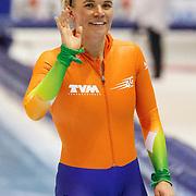 NLD/Heerenveen/20130112 - ISU Europees Kampioenschap Allround schaatsen 2013 dag 2, 500 meter dames, Linda de Vries