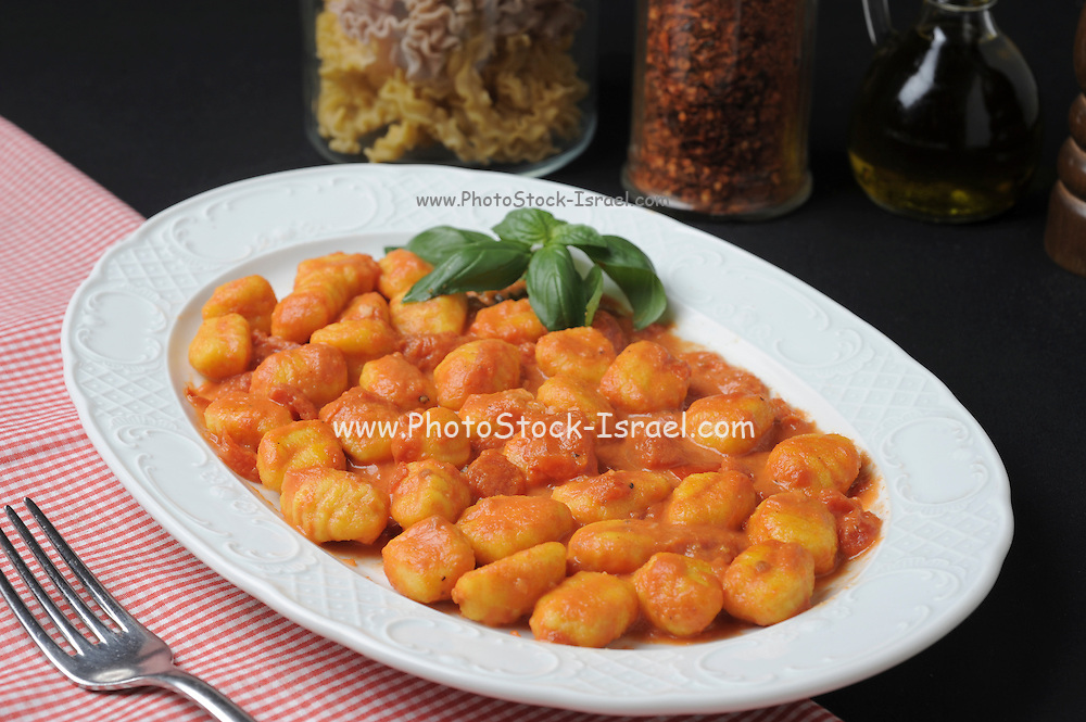 A plate of Gnocchi