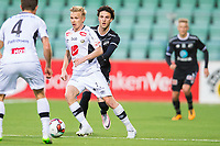 Fotball , 20 April 2016 , Tippeligaen , Eliteserien , Sogndal - Odd , Rafik Zekhnini , Taijo Teniste<br /> <br /> Foto: Marius Simensen, Digitalsport