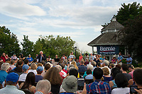 The Wolfeboro Inn hosted Democratic Presidential candidate Bernie Sanders Monday evening.  (Karen Bobotas/for the Laconia Daily Sun)