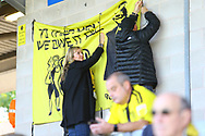 Burton Albion fans during the EFL Sky Bet League 1 match between Burton Albion and Scunthorpe United at the Pirelli Stadium, Burton upon Trent, England on 29 September 2018.