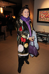 Private View of the Pavilion of Art & Design London 2010 held in Berkeley Square, London on 11th October 2010.<br /> Picture Shows:-SUZY MENKES.