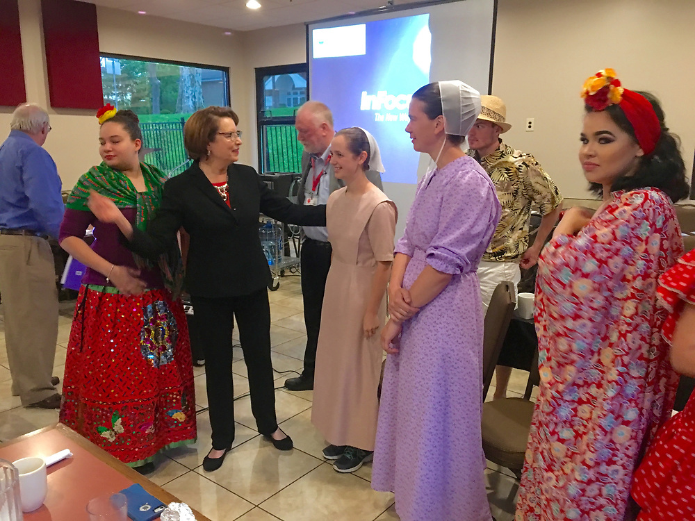 Foreign Affairs Club, Wyomissing Family Restaurant, Wyomissing, Berks Co., PA Dutch and Latino cultures,