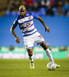 Reading's Leandro Bacuna during the Carabao Cup, third round match at the Madejski Stadium, Reading.