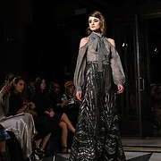 Jiri Kalfar is a Czech Fashion Designer showcases is latest collection at Fashion Scout - SS19, Lond
