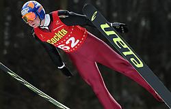 Miran Zupancic of SK Zagorje at Slovenian National Championship in Ski Jumping on February 12, 2008 in Kranj, Slovenia . (Photo by Vid Ponikvar / Sportal Images).
