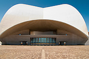 View of Auditorio de Tenerife, Santa Cruz de Tenerife, Spain