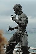Statue of Bruce Lee. Hong Kong, China