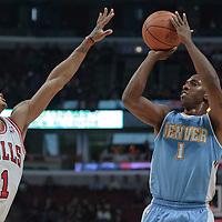 11-08 Denver Nuggets at Chicago Bulls