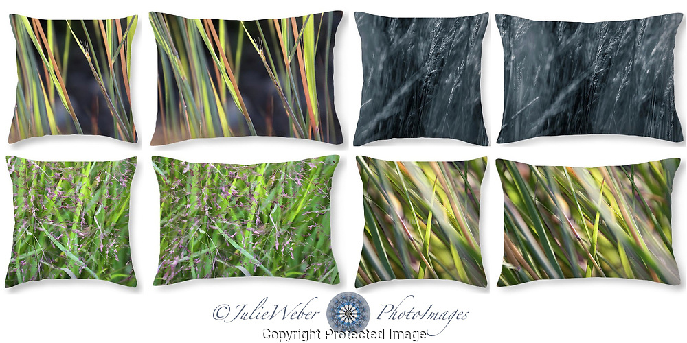 Grasses - Shop here: https://2-julie-weber.pixels.com/shop/throw+pillows/grasses