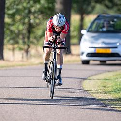 13-09-2020: Wielrennen: NK tijdrijden nieuwelingen en junioren: Chaam<br />Jaïr van Utrecht