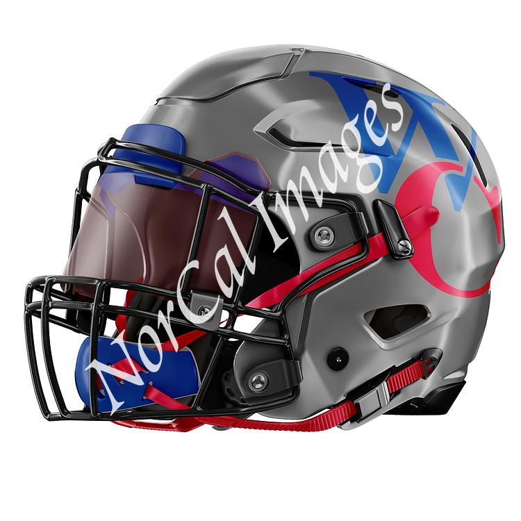West County High School Football Helmet
