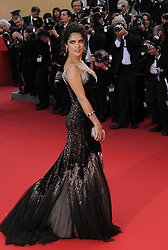 Salma Hayek  at the premiere of Madagascar 3 Europe's Most Wanted at the Cannes Film Festival, Friday, May 18th  2012. Photo by: Ki Price  / i-Images