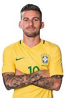 Football Conmebol_Concacaf - <br />Copa America Centenario Usa 2016 - <br />Brazil National Team - Group B - <br />Lucas Rafael Araújo Lima