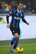 Antonio Candreva of Inter during the Serie A match at Giuseppe Meazza, Milan. Picture date: 9th February 2020. Picture credit should read: Jonathan Moscrop/Sportimage