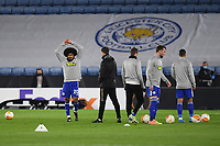 Football - 2020 / 2021 Europa League - Round of 32 - Second Leg - Leicester City vs Slavia Prague - King Power Stadium<br /> <br /> Leicester City's Hamza Choudhury during the pre-match warm-up.<br /> <br /> COLORSPORT/ASHLEY WESTERN