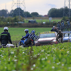 ROUBAIX (FRA): CYCLING: October 3th<br /> Paris-Roubaix men<br /> It was a hard day for riders and followers