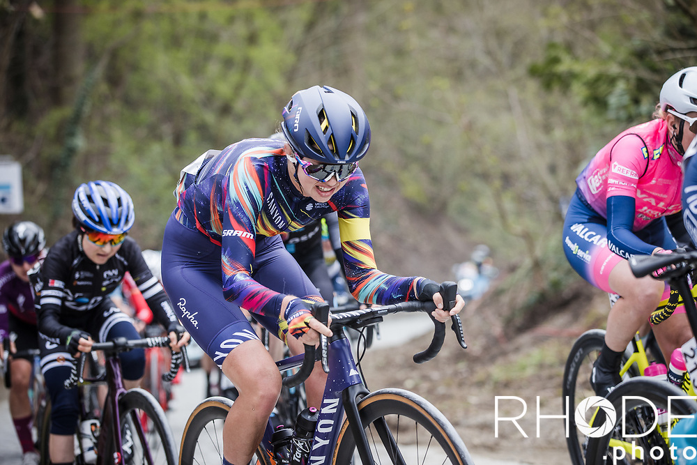 Ella Harris (NZL/Canyon Sram)<br /> <br /> Women's Elite Brabantse Pijl 2021 <br /> 1 Day Race: Lennik - Overijse 127km<br /> <br /> ©Rhode.Photo