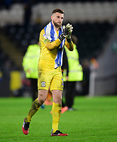 Preston North End's Declan Rudd applauds the fans at the final whistle <br /> <br /> Photographer Chris Vaughan/CameraSport<br /> <br /> The EFL Sky Bet Championship - Hull City v Preston North End - Wednesday 27th November 2019 - KCOM Stadium - Hull<br /> <br /> World Copyright © 2019 CameraSport. All rights reserved. 43 Linden Ave. Countesthorpe. Leicester. England. LE8 5PG - Tel: +44 (0) 116 277 4147 - admin@camerasport.com - www.camerasport.com