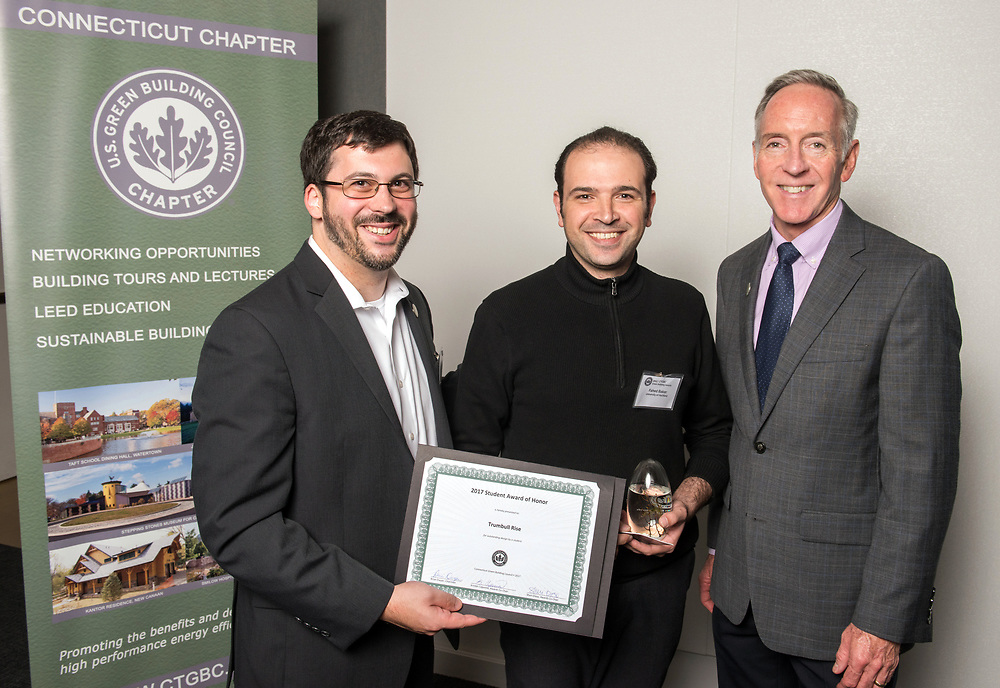 Photo by Mara Lavitt<br /> November 2, 2017<br /> Photography: ©Mara Lavitt<br /> The CTGBC (Connecticut Green Building Council) Green Building Awards held at Alexion Pharmaceuticals in New Haven, CT.