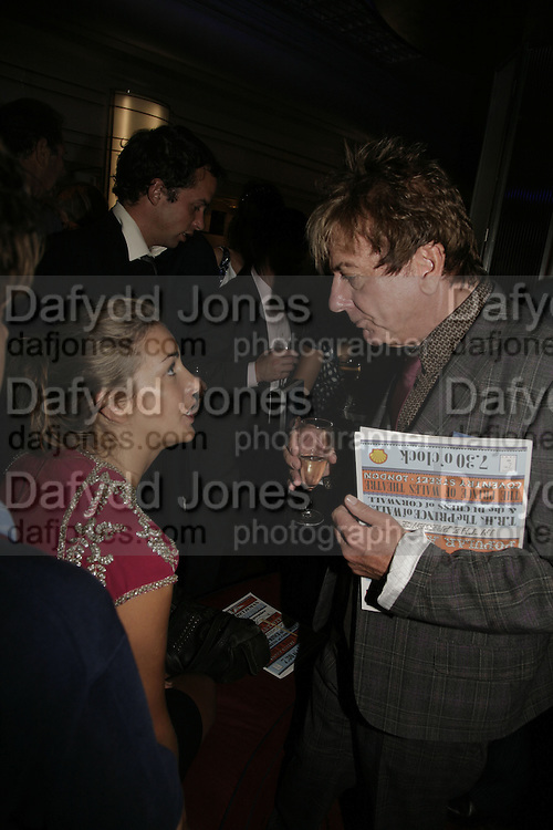 SARA BUYS AND NICKY HASLAM, The John Betjeman Variety Show, sponsored by Shell, in aid of Sane. In the Presnece of the Prince of Wales and the Duchess of Cornwall. Prince of Wales theatre. London. 10 September 2006. ONE TIME USE ONLY - DO NOT ARCHIVE  © Copyright Photograph by Dafydd Jones 66 Stockwell Park Rd. London SW9 0DA Tel 020 7733 0108 www.dafjones.com
