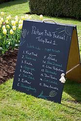 Board of tulip names