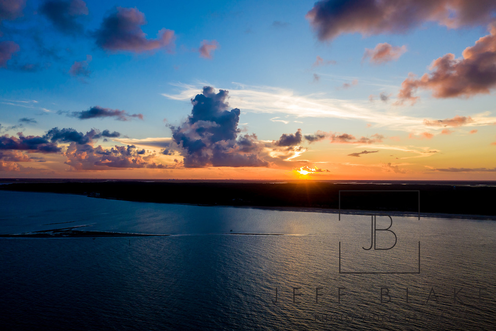 Sunset over Daufuskie Island, SC, by photographer Jeff Blake, www.JeffBlakePhoto.com