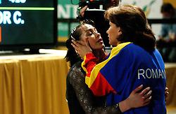 02-05-2004 TURNEN: EUROPEES KAMPIOENSCHAP DAMES: AMSTERDAM<br /> Catalina Ponor ROE<br /> ©2004-www.fotohoogendoorn.nl