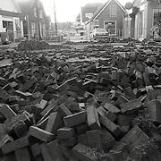 NLD/Huizen/19920214 - Opengebroken Lindelaan Huizen